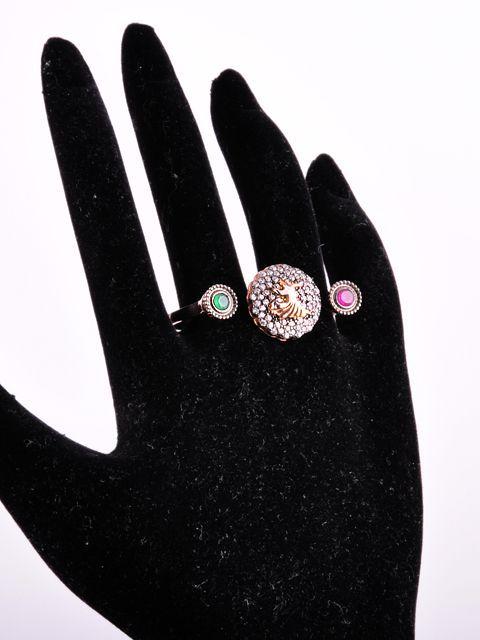Semazenli İki Parmak Yüzüğü