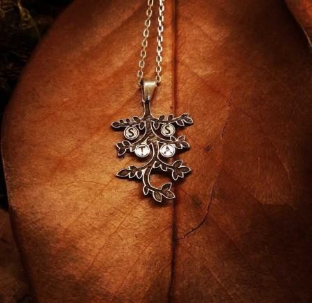 Tesbihane - Siz İsteyin Biz Yapalım - Kişiye Özel Yazılı 925 Ayar Gümüş Kolye -9-