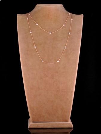 - Zirkon Taşlı Uzun Tiffany Kolye